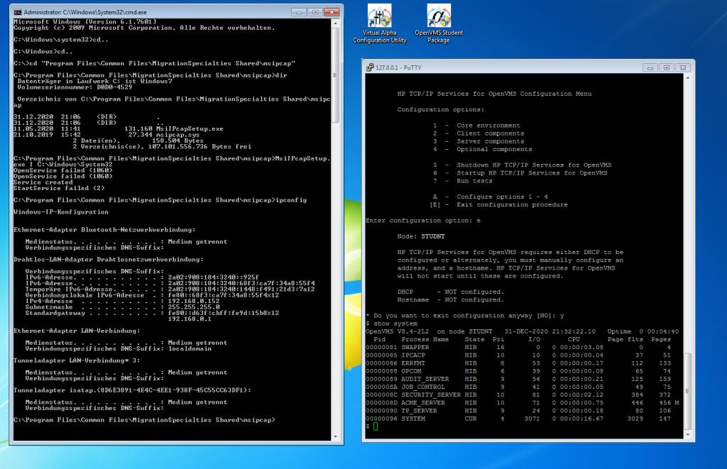 VSI OpenVMS Student-Package