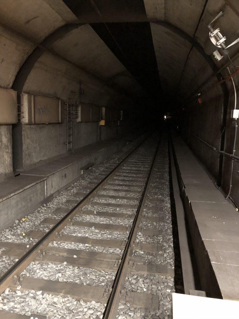 Tunnel zwischen Höhenstraße und Bornheim Mitte